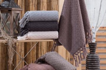 Cotton Elite Kapadokya Saçaklı Havlu