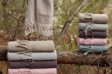 Cotton Elite Mikanos Saçaklı Havlu